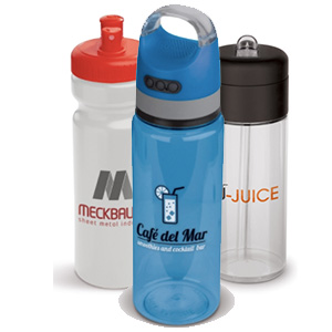 Plastic drinkflessen